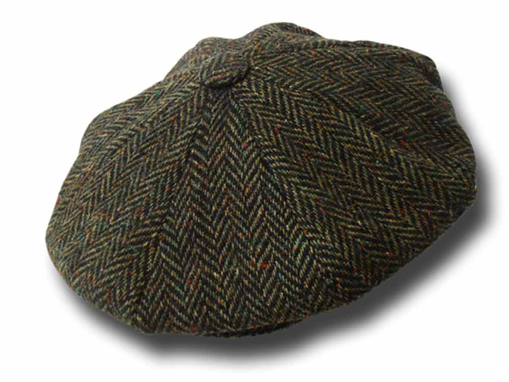 Hatman of Ireland Irischen Donegal Tweed Gatsb