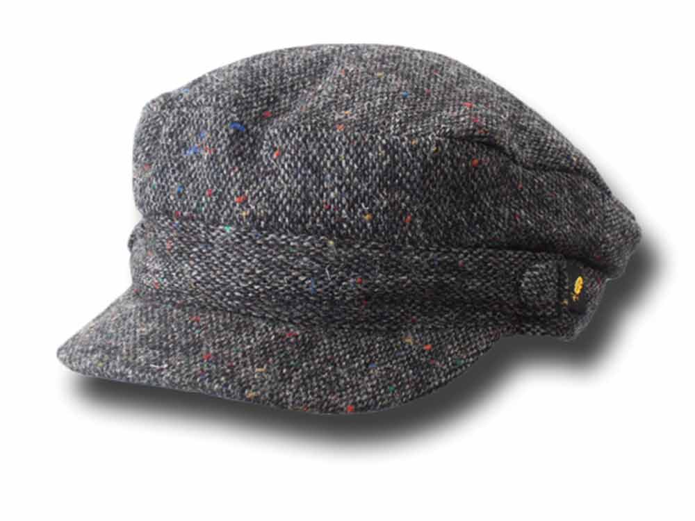 Berretto marinaio Donegal tweed skipper Hatman