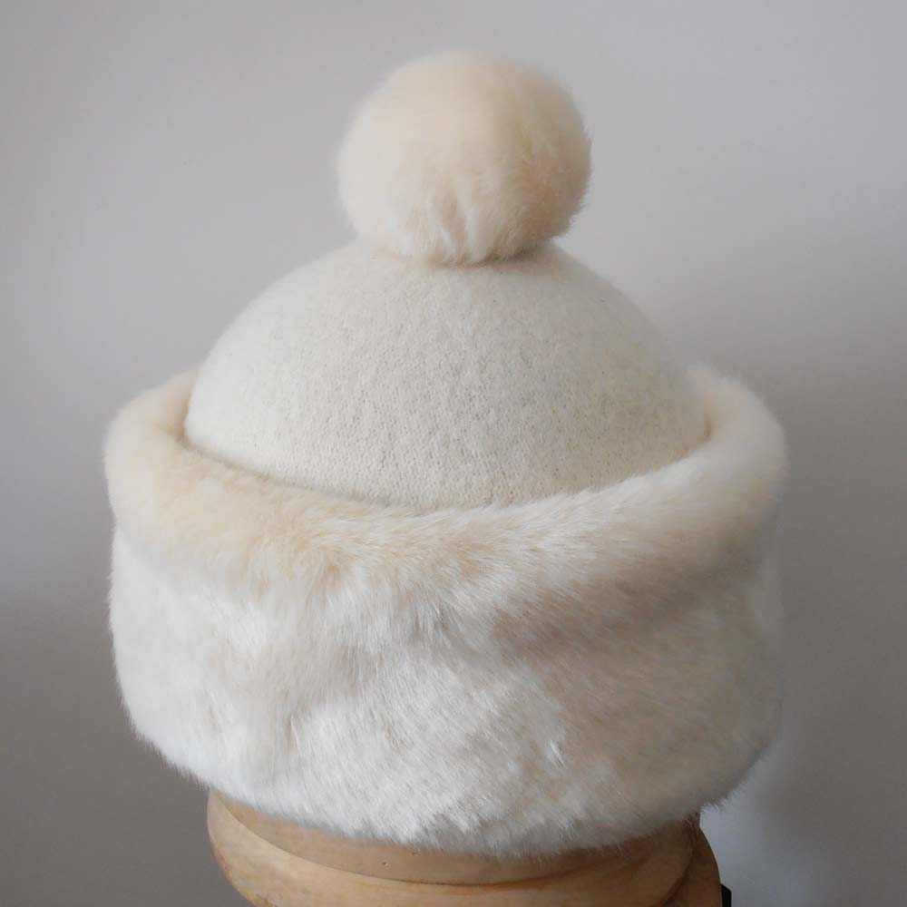 Marzi Firenze Wool hat with PomPon Alenka