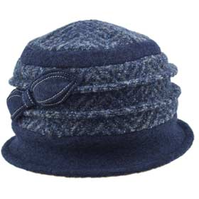 Melegari Paola women wool cloche hat