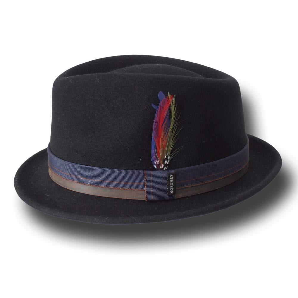 Stetson trilby woolfelt hat Calgary Black 0de0658613ed