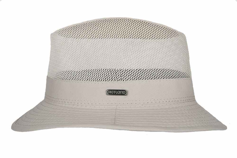 Hatland Grenville Cotton Hat natural color