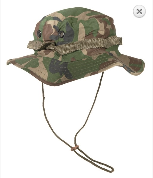 US camo boonie hat