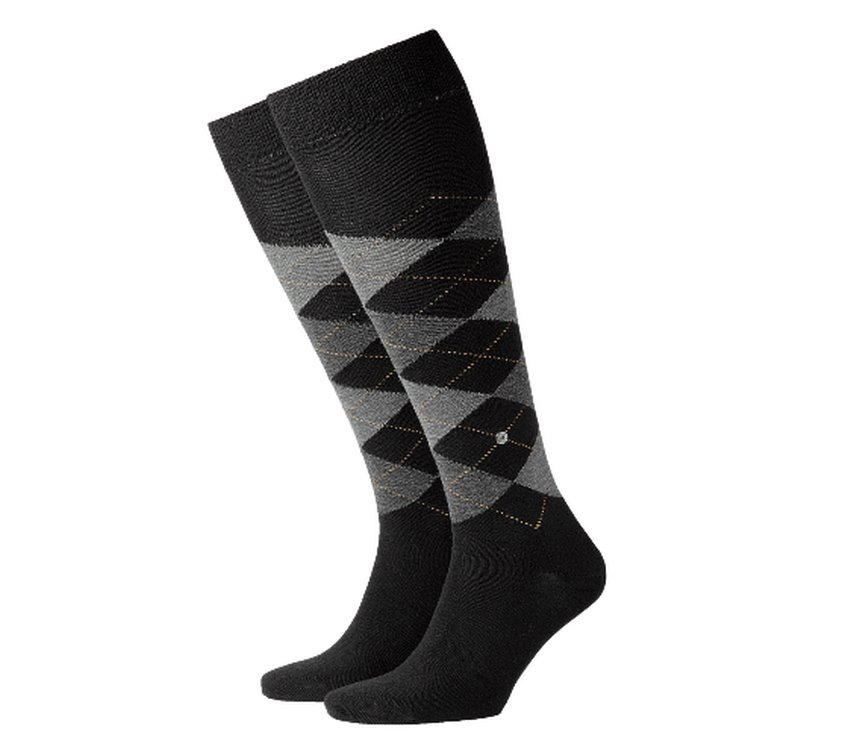 Socks man Preston Burlington Black