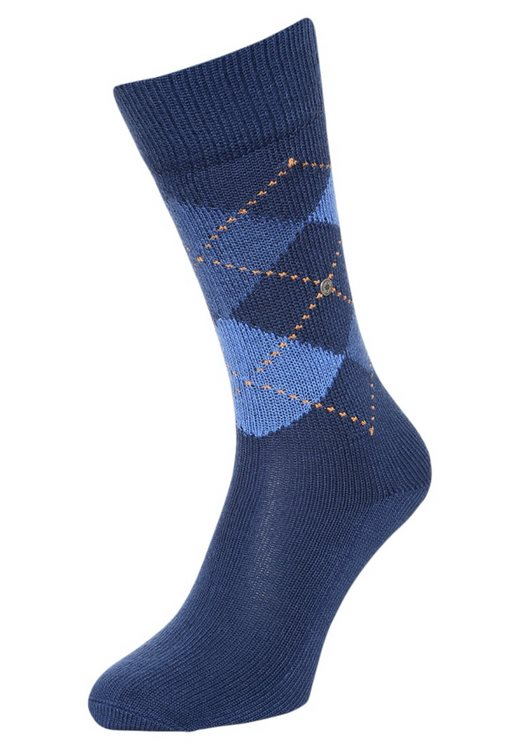 Socks man Preston Burlington Blue marine
