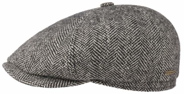 Stetson Hatteras wolle-Alpaka Fishbone Flatcap 01d2c807c71f
