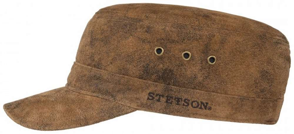 Stetson Casquette Minnesota Raymore Army peau