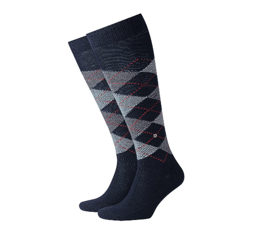 Socks man Preston Burlington Dark blue