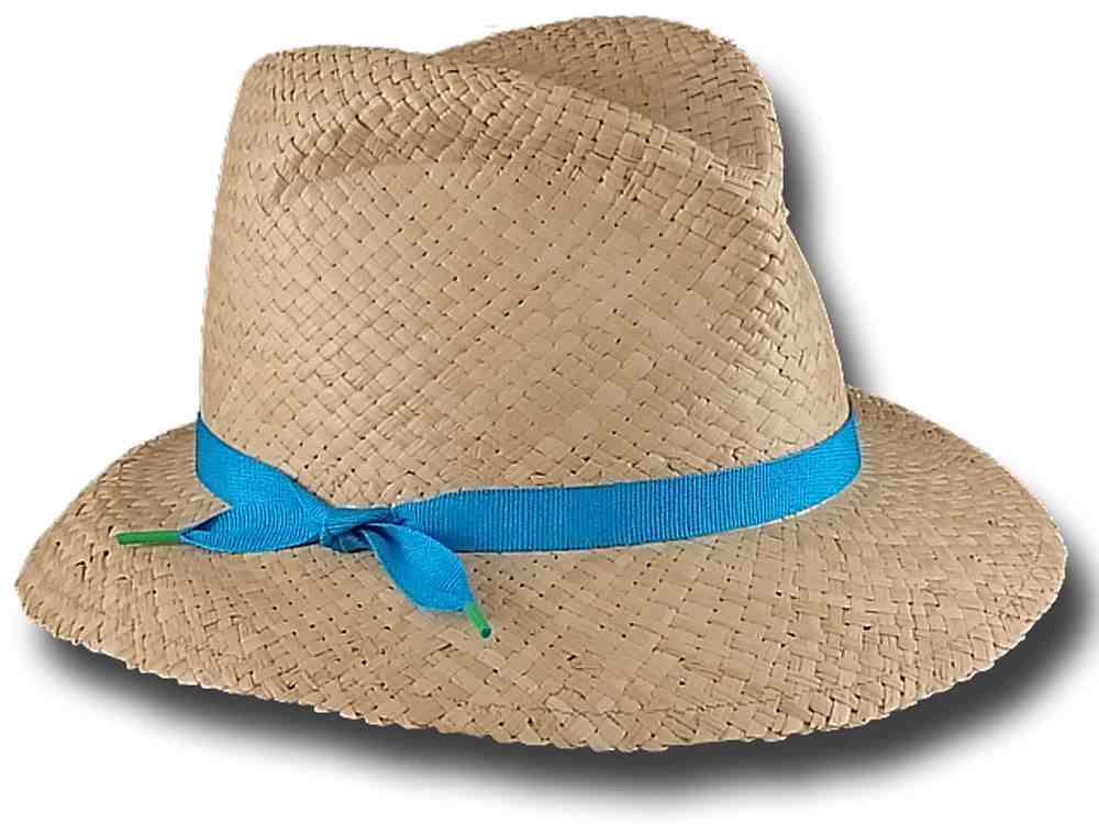 Marzi Hat summer woman Becky light blue