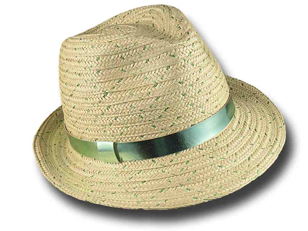 Marzi Trilby hat summer woman Sandy Green