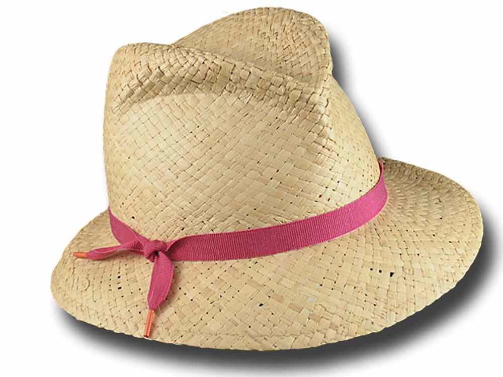 Marzi Hat summer woman Becky Fuchsia