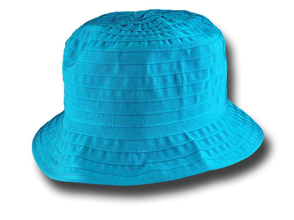 Arona Woman summer pocket hat Turquoise