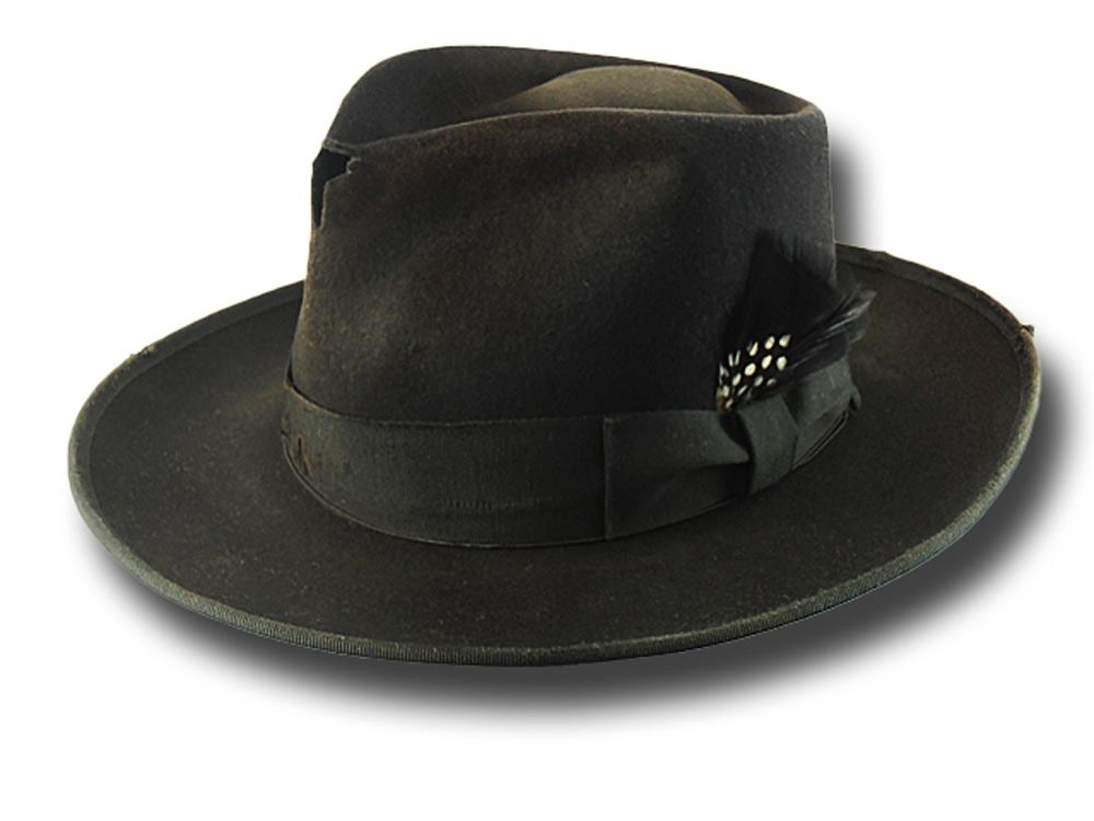 Cappello Fedora Johnny Depp Dusty Customized N