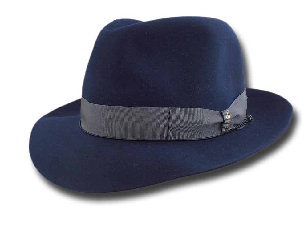 Borsalino Fedora Hat Superior Quality unlined