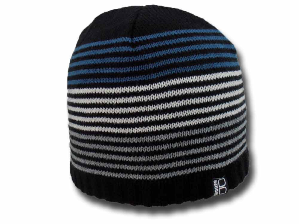Broner U.S.A. Striped Knit  Beanie hat