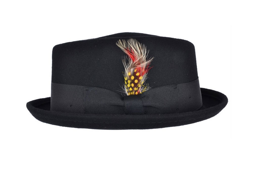 Cappello Pork Pie Jazz Diamond Hat Davis
