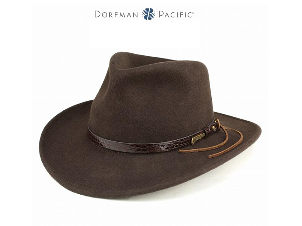 Dorfman Pacific Indiana Jones Fedora hat Origi