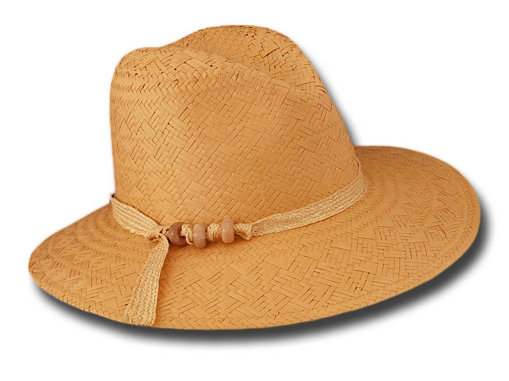 Marzi summer woman straw paper hat