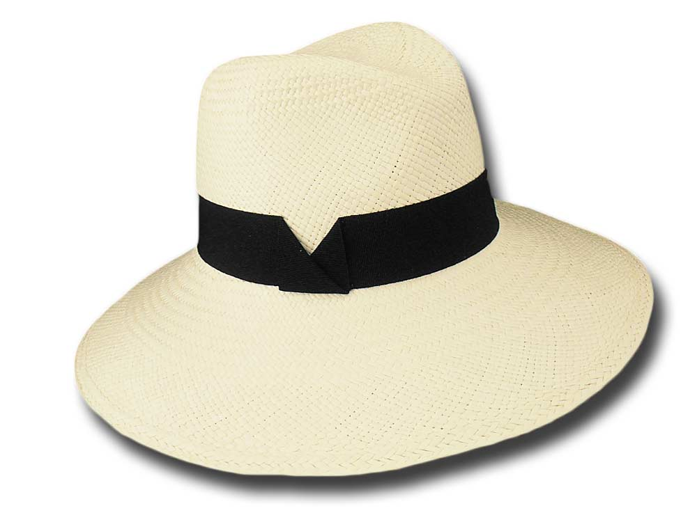 Marzi summer woman Panama hat Étienne black