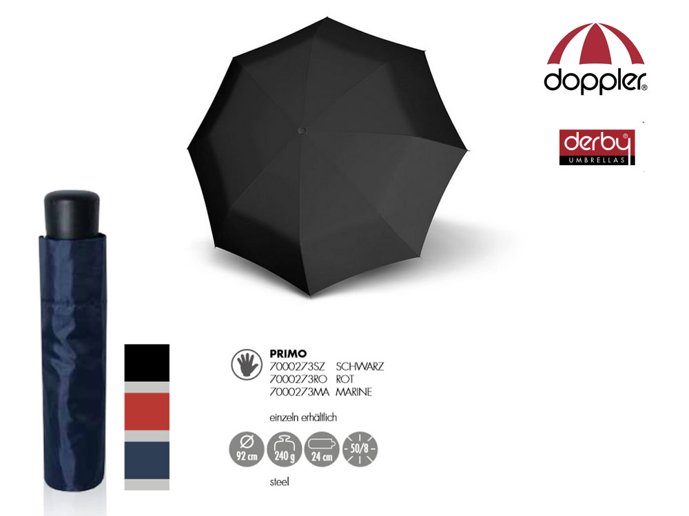 Doppler Umbrella manual open Primo Various col