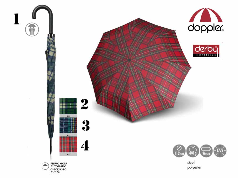 Doppler Umbrella auto open Primo Golf Automati