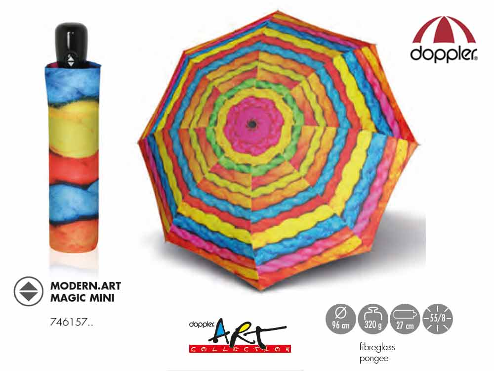 Doppler Umbrella auto open/close Modern Art Ma