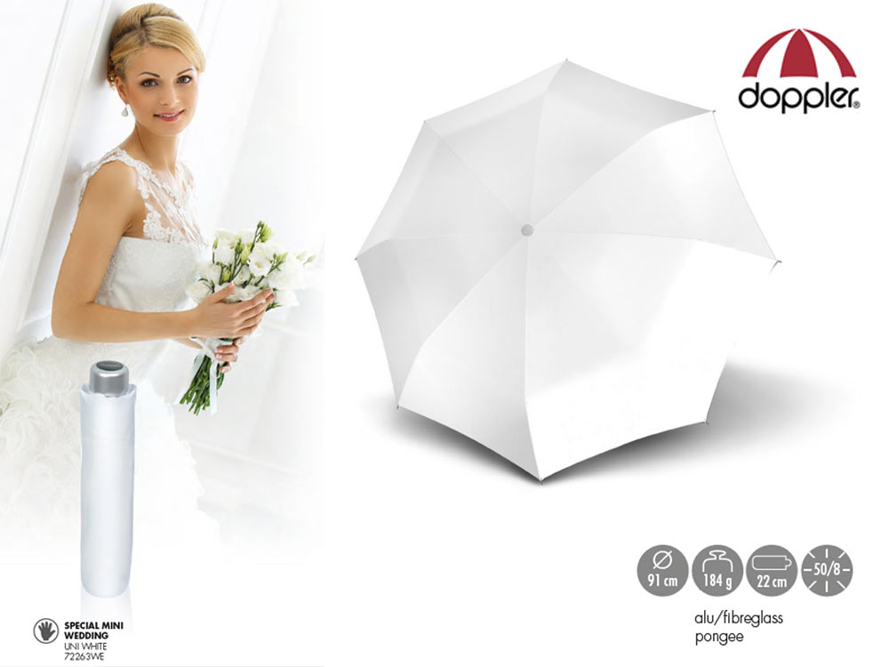 Doppler Umbrella manual open ultra light Weddi