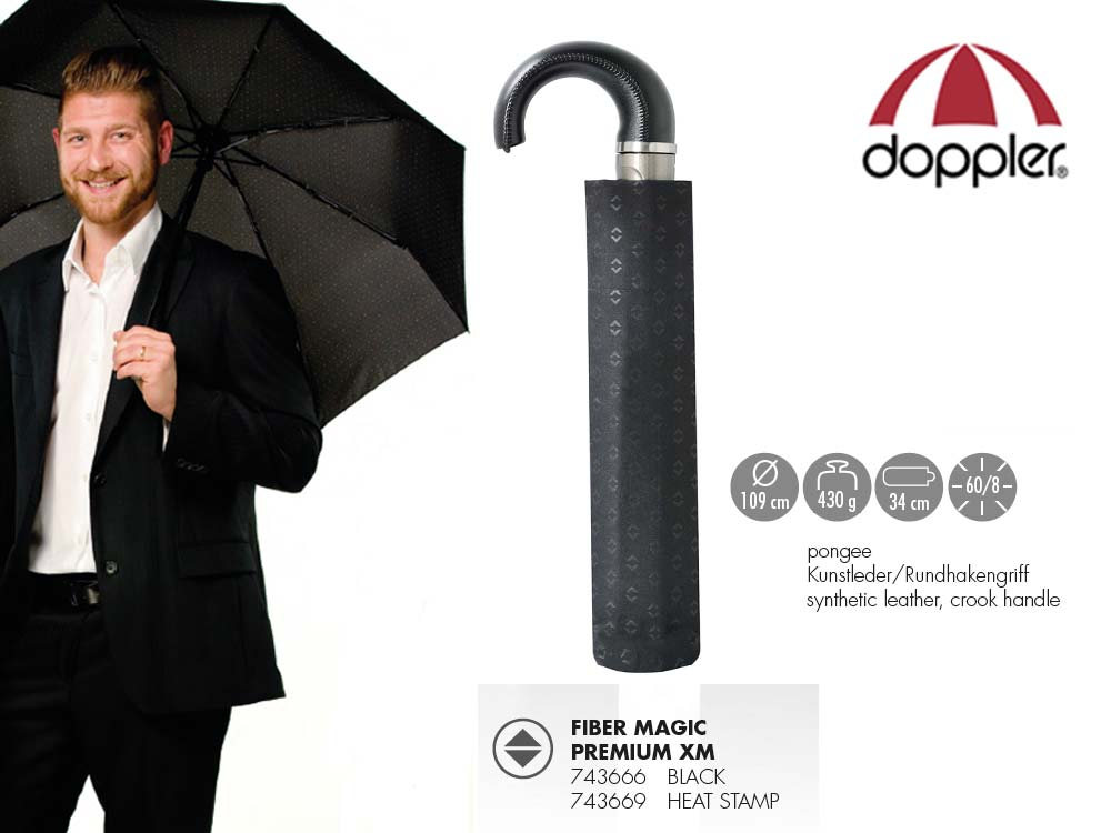 Doppler Umbrella auto open/close Fiber Magic P