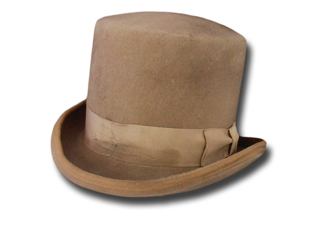 E.B. Farmun Deadwood western top hat