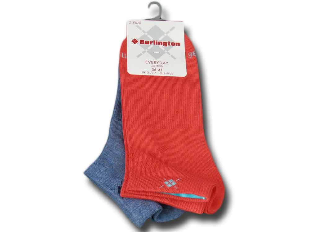 Cotton sneaker socks woman Everyday Burlington