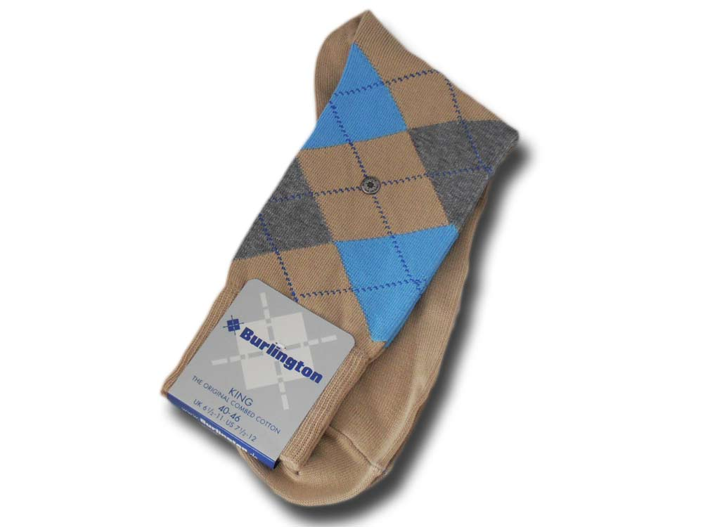 Cotton socks man King Burlington 21020 4020
