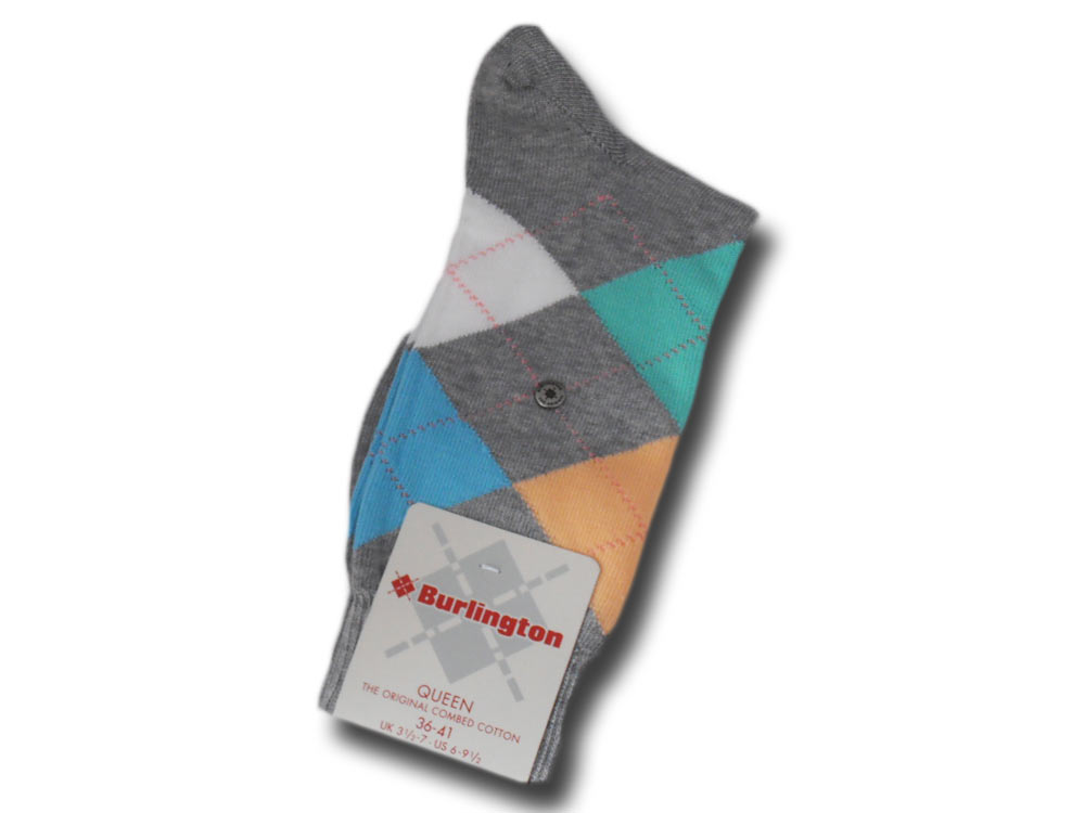 Cotton socks woman Queen Burlington 22040 3617