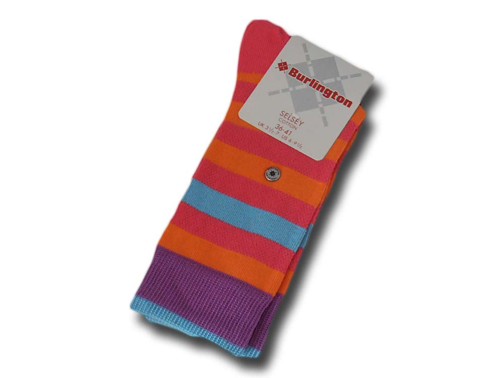 Cotton socks woman Selsey Burlington 22038 855