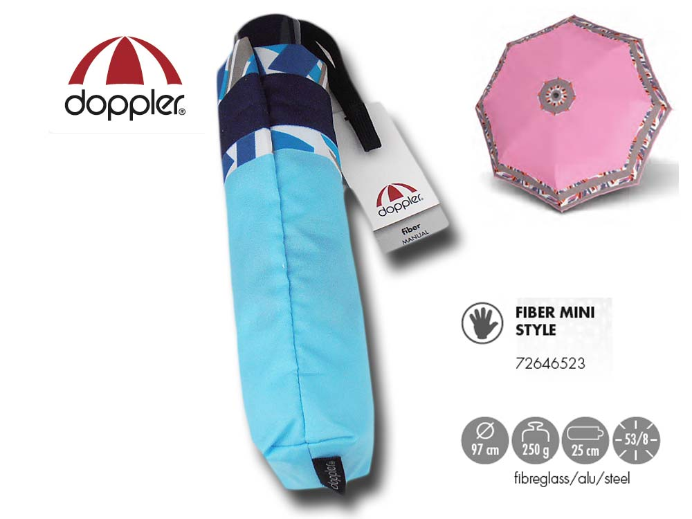 Doppler Umbrella manual open ultra light Fiber
