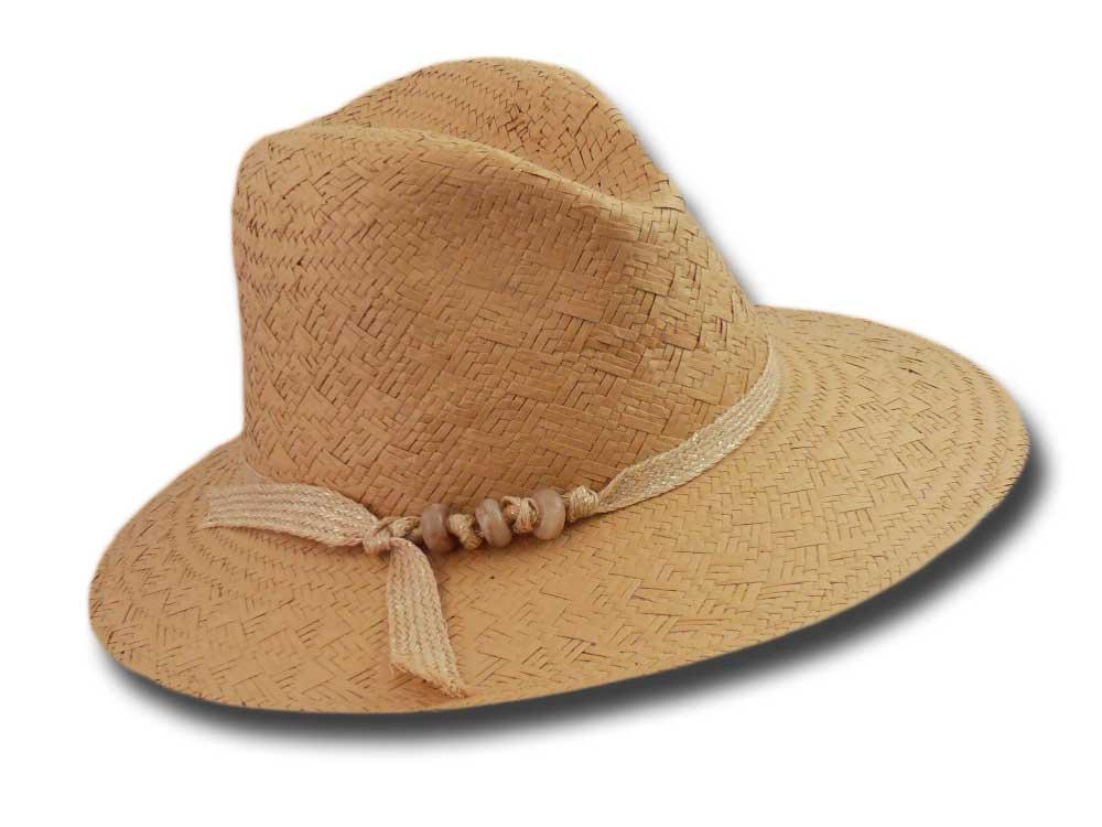Marzi summer woman straw paper hat Senna