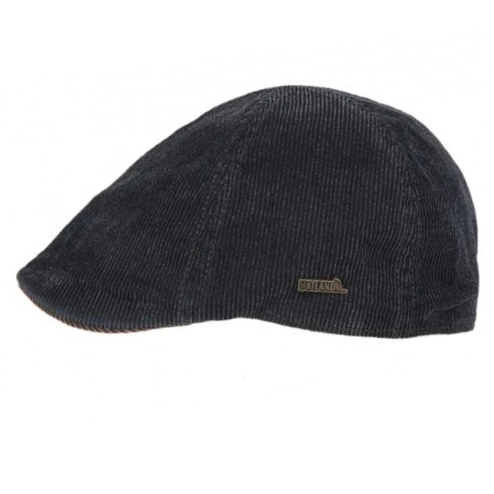 e881d479df5 Hatland Seger frosted Corduroy flat cap Dark g