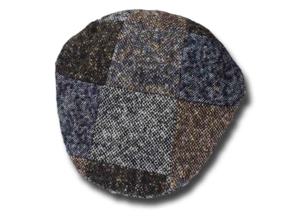 Berretto piatto lana Moessmer Patchwork Melega a01601f1e43c