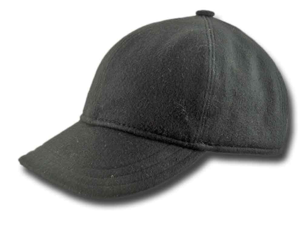 Berretto Baseball lana cashmere tascabile Blu f1c3bd0b5143