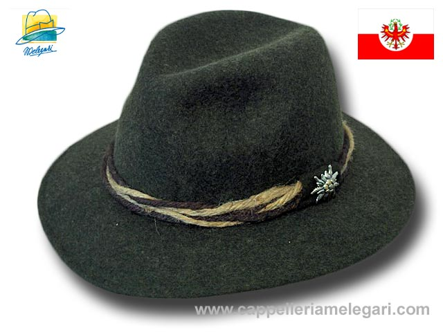 Original Edelweiss Tirol hat Green