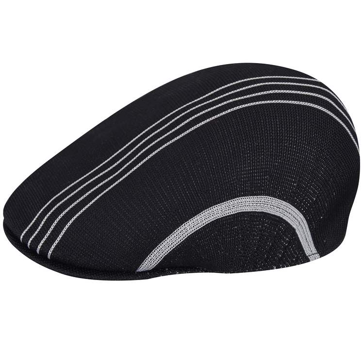 Kangol Multi Stripe 507 Cap Black