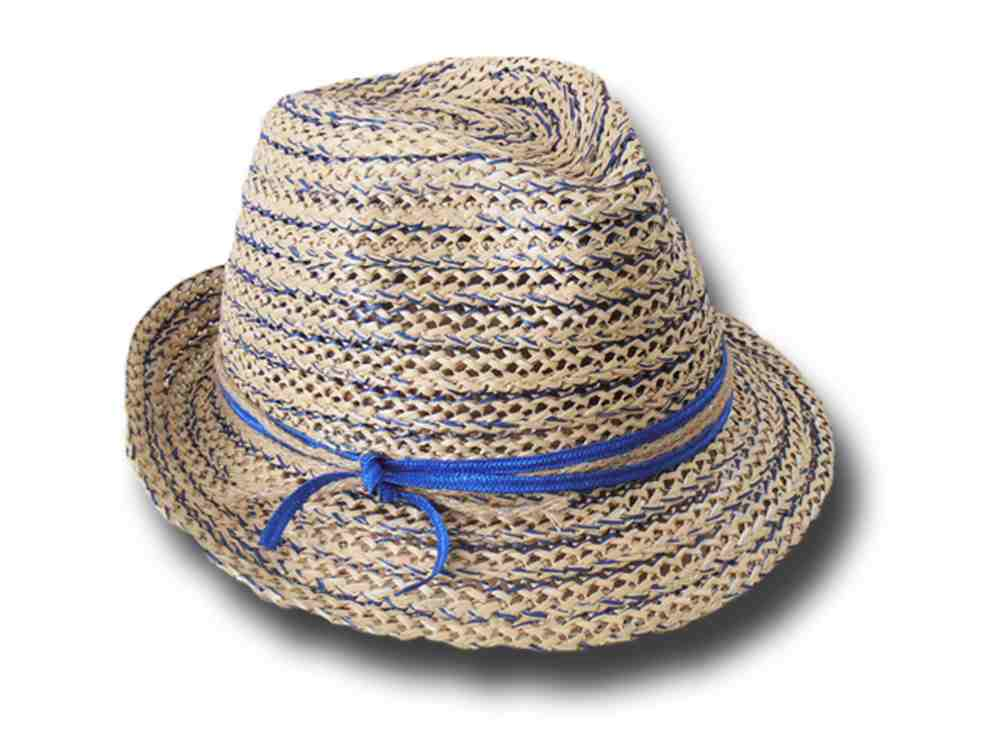 Marzi Firenze summer woman hat Cristina blue m