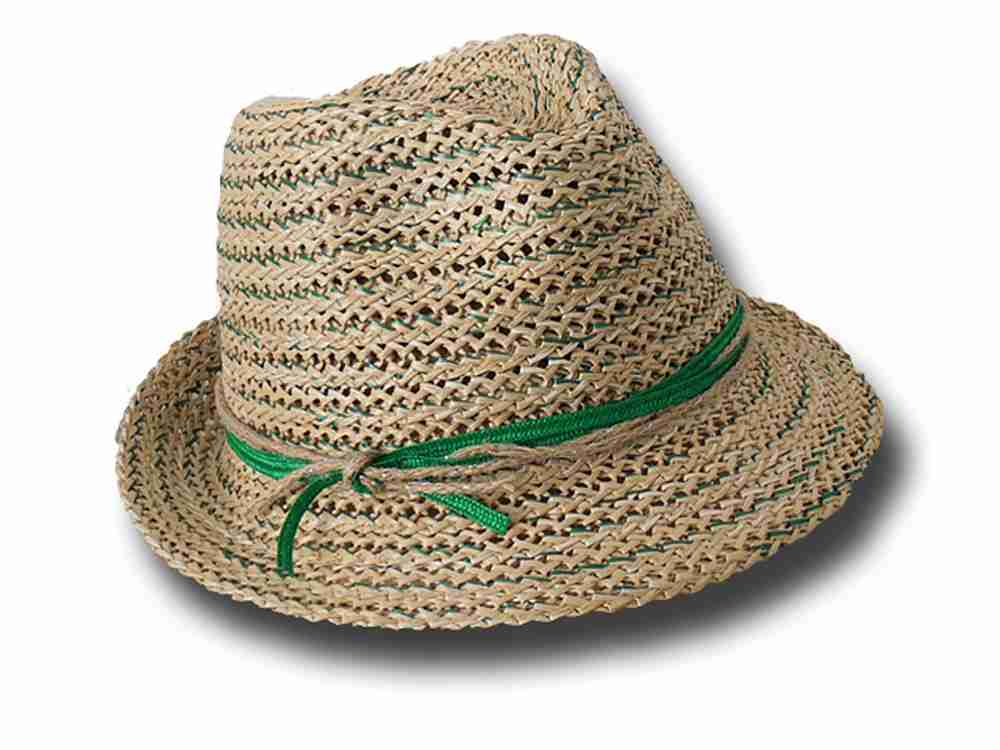 Marzi Firenze summer woman hat Cristina green