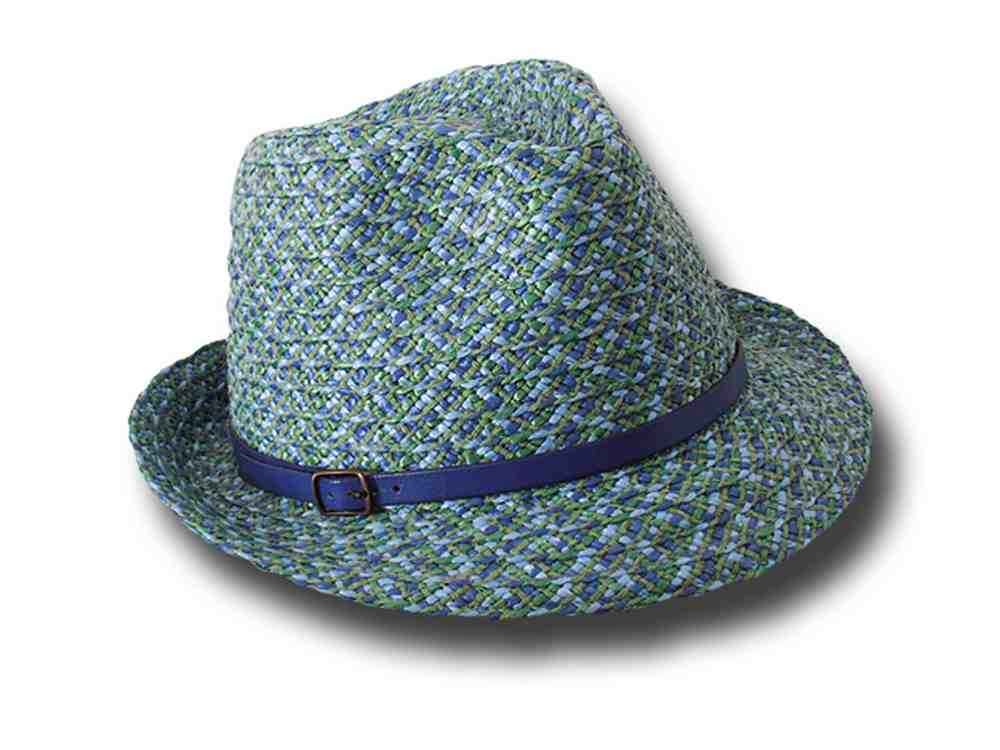 Marzi Trilby hat summer woman Gerry Blue
