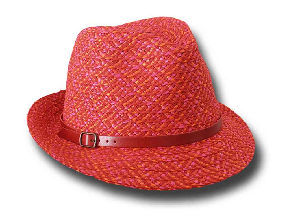 Marzi Trilby hat summer woman Gerry Red