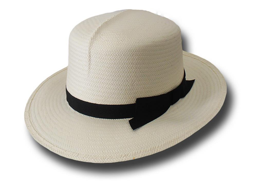 Pseudo-Panama hat colonial high quality brim 7