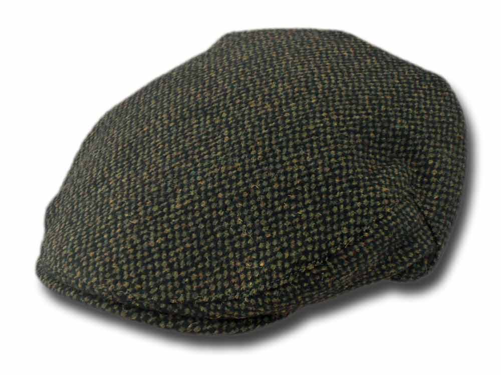 Shandon Irish Wolle flatcap Herman Grün