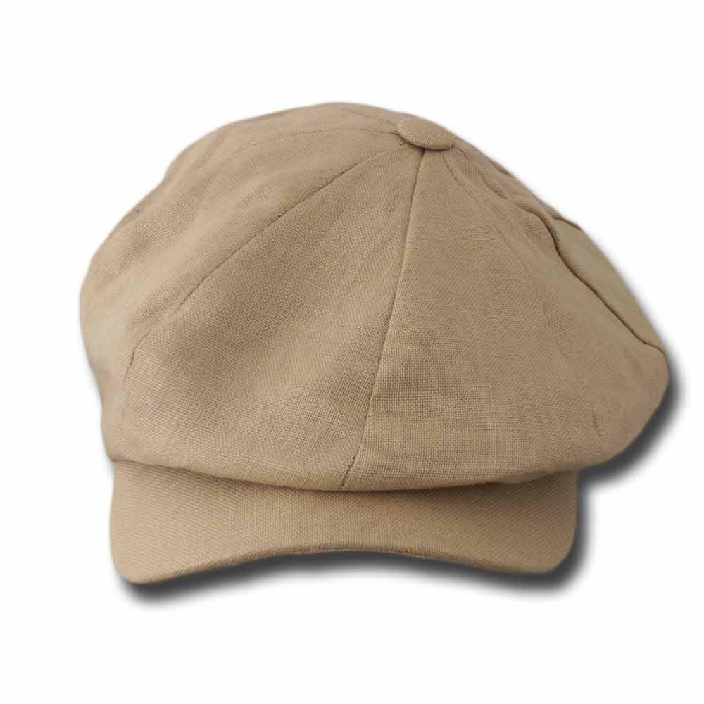 Hanna Hats Berretto irlandese lino Newsboy Dep a25661b6698d