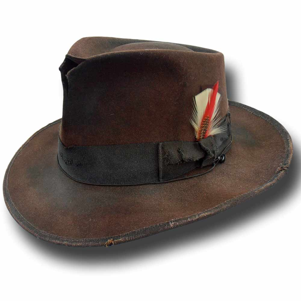 Fedora Johnny Depp hat Dusty Brown