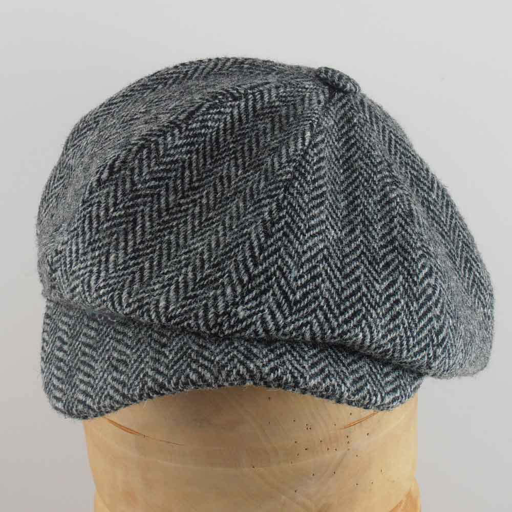 Gatsby Newsboy Depp Harris wool tweed cap Hann