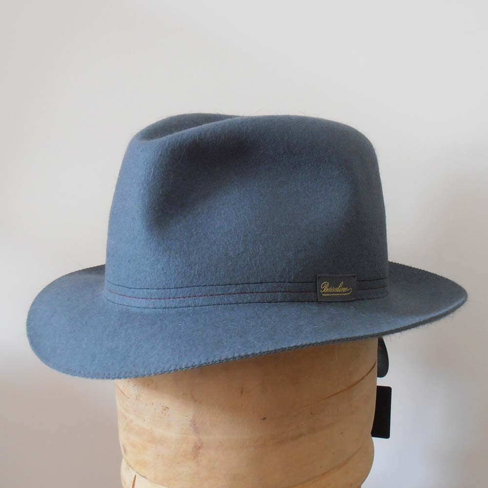 Borsalino Traveller hat rollable Carta zuccher
